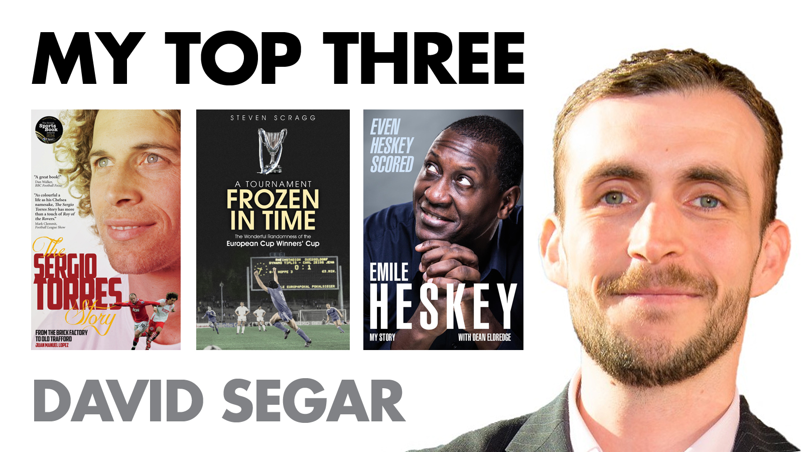 MY TOP THREE: DAVID SEGAR