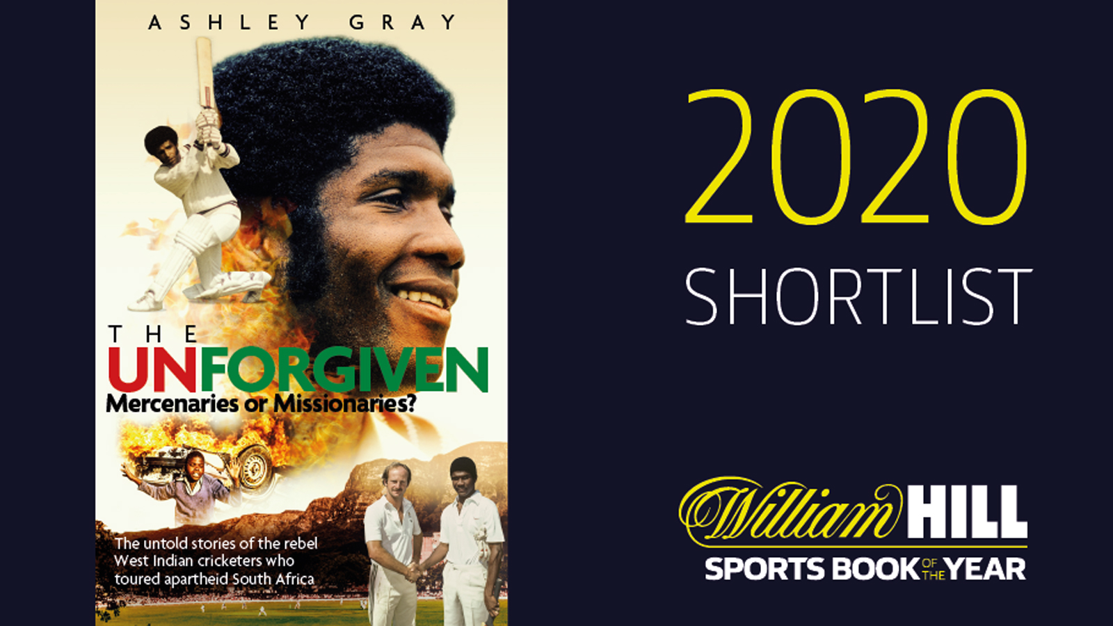 UNFORGIVEN ON WILLIAM HILL SHORTLIST