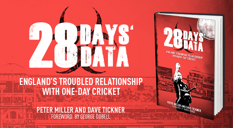 CRICKET Q&A: PETER MILLER ON 28 DAYS' DATA