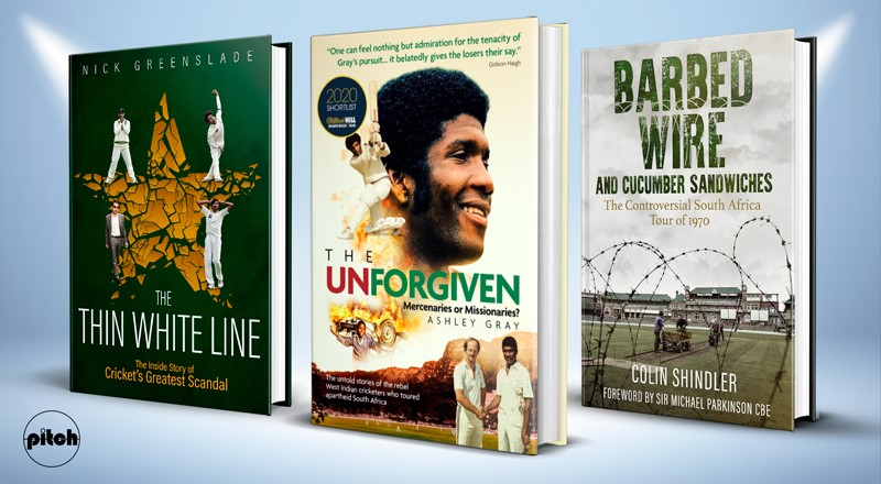 THREE TITLES ON CRICKET BOOK OF THE YEAR SHORTLIST